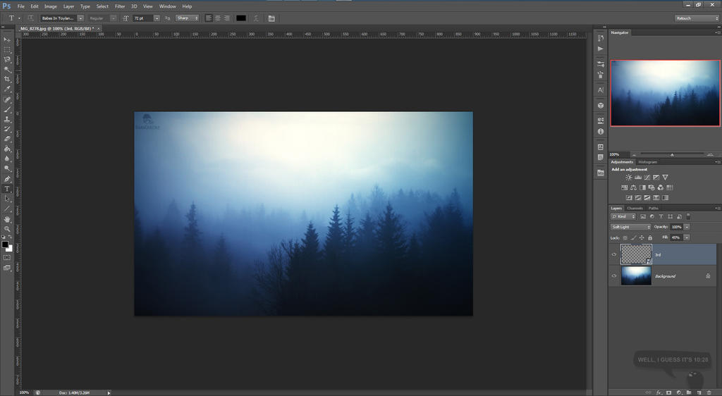 how to create a watermark png in photoshop