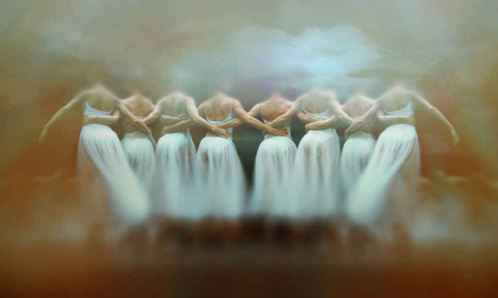Headless ballerina dance by DianaGrigore