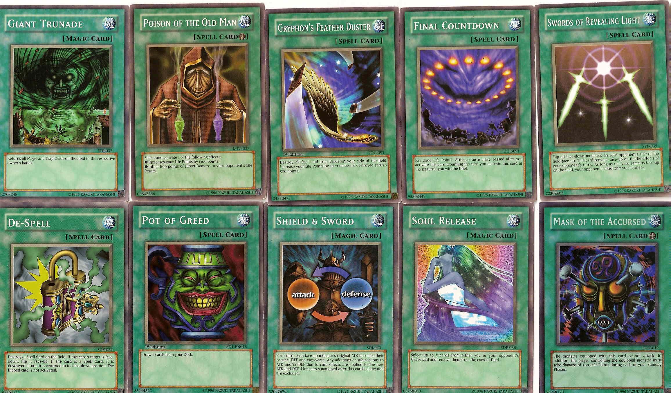 yugioh cards in my deck 4 by inuyasha666hiei on deviantart