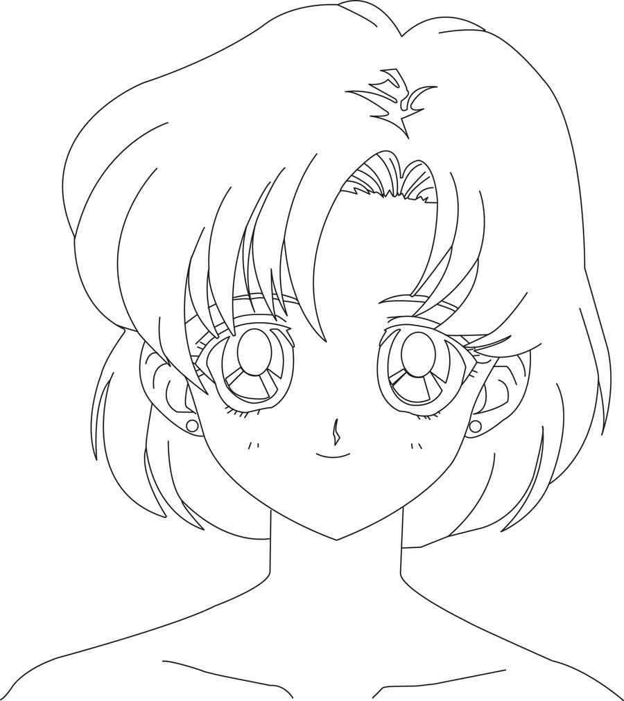 Mercury and sailor mars coloring pages coloring pages for Mercury coloring page