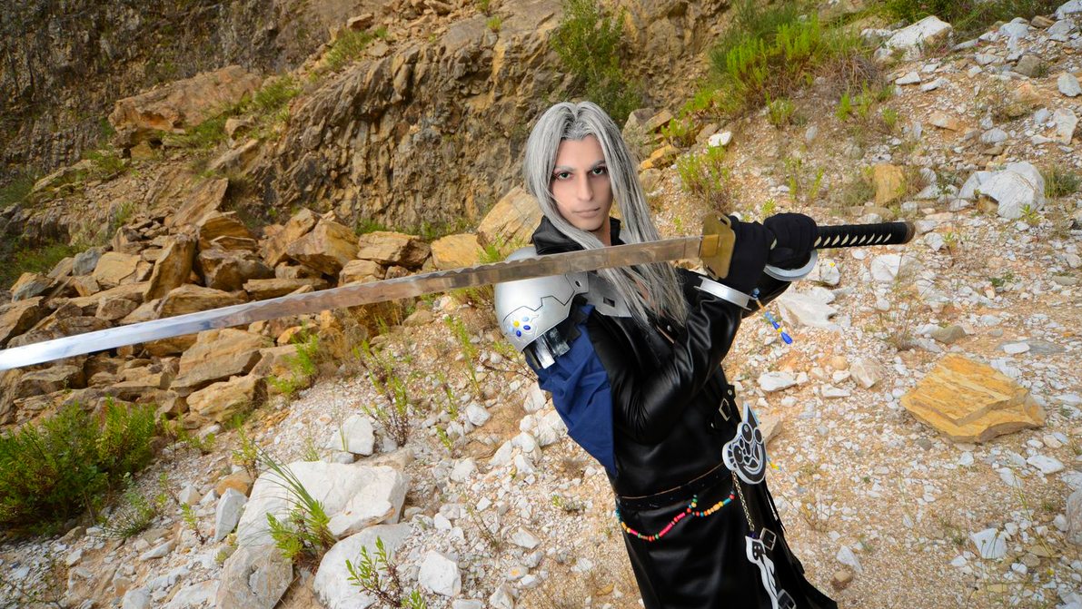 Dissidia Sephiroth by GIOVANNIMICARELLI