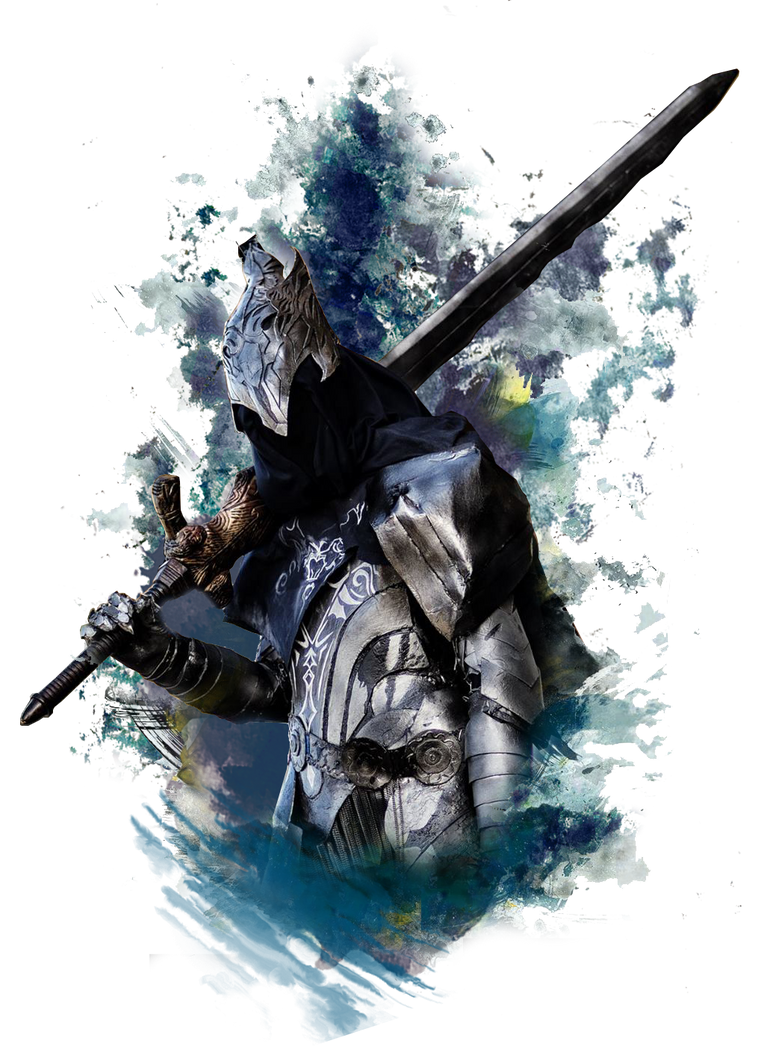 Artorias ink by GIOVANNIMICARELLI
