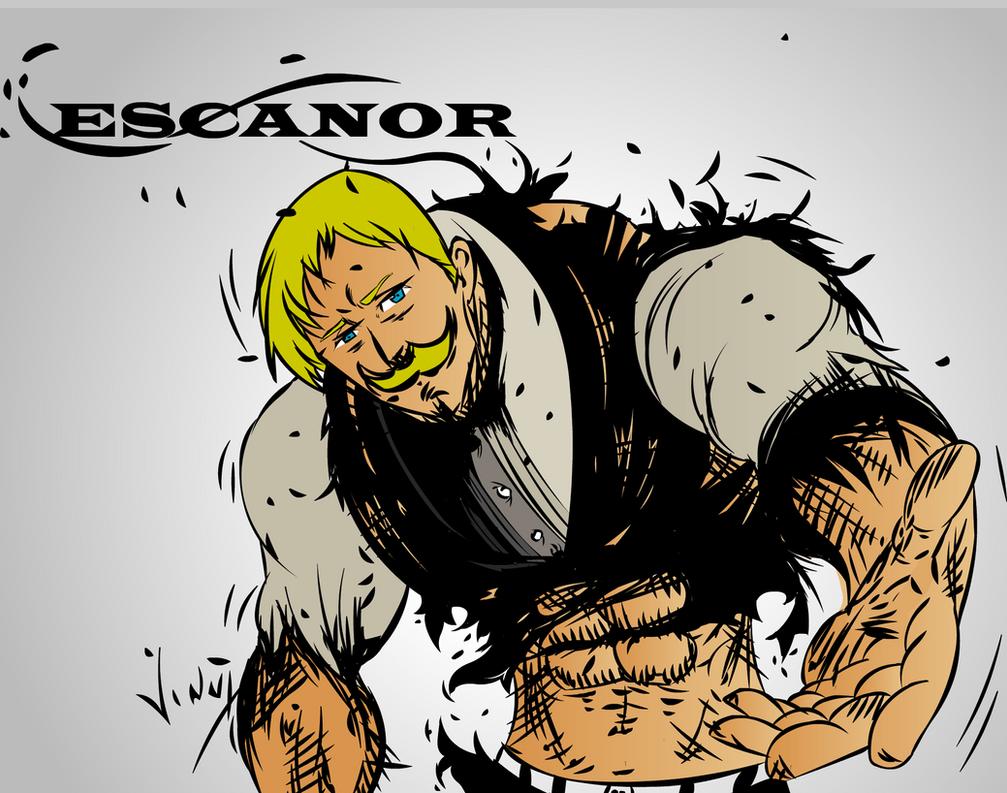 Escanor - Nanatsu no Taizai - FanArt by VinnyCrazy on ...