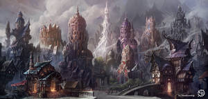 Major square of the Mist City
