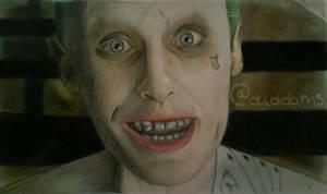 Jared 'Joker' leto (Colored Pencil Edition)