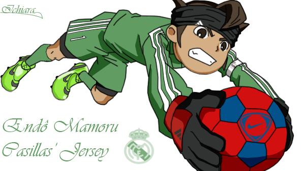 Endo Mamoru Casillas Jersey by ichiara