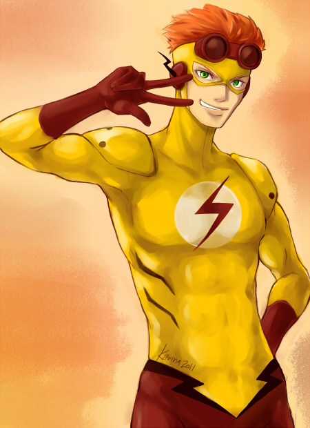 Young justice kid flash stealth