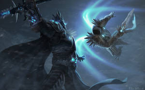 Arthas vs Tyreal HoTS Contest Entry by DanRobArt