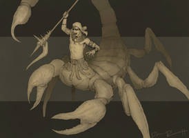 ScorpionDude by DanRobArt