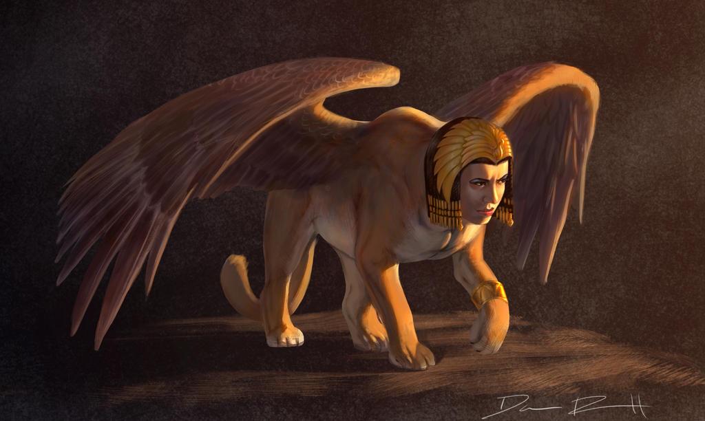 Sphinx by DanRobArt