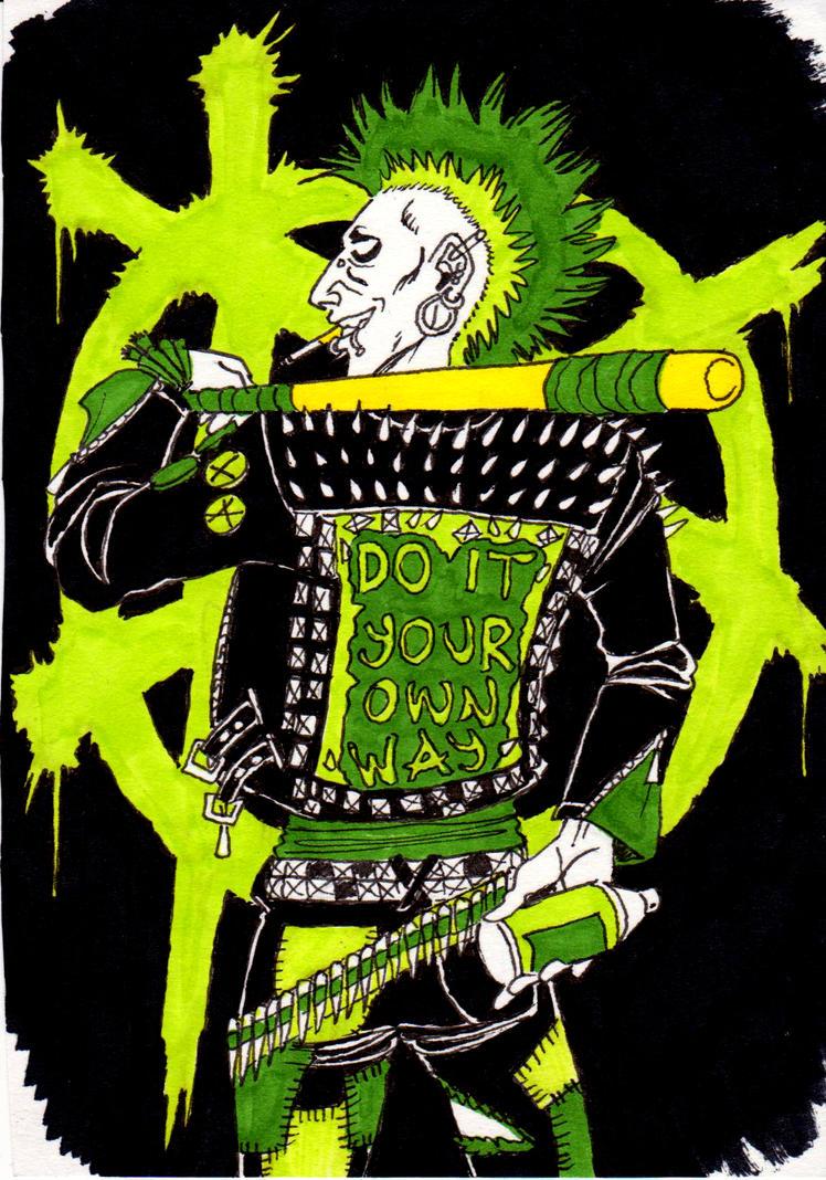Little punk by Stankula
