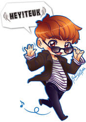 Hey! Teuk fansite Chibi by velmadzik
