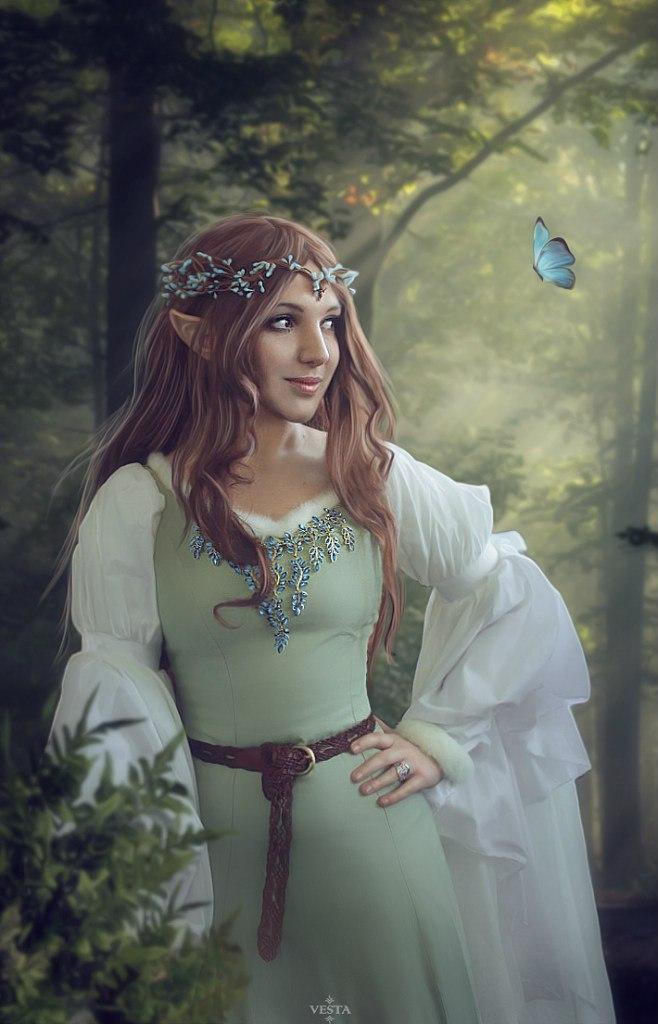 my elven queen by luiren