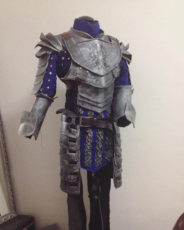 Grey Warden Warrior WIP by luiren