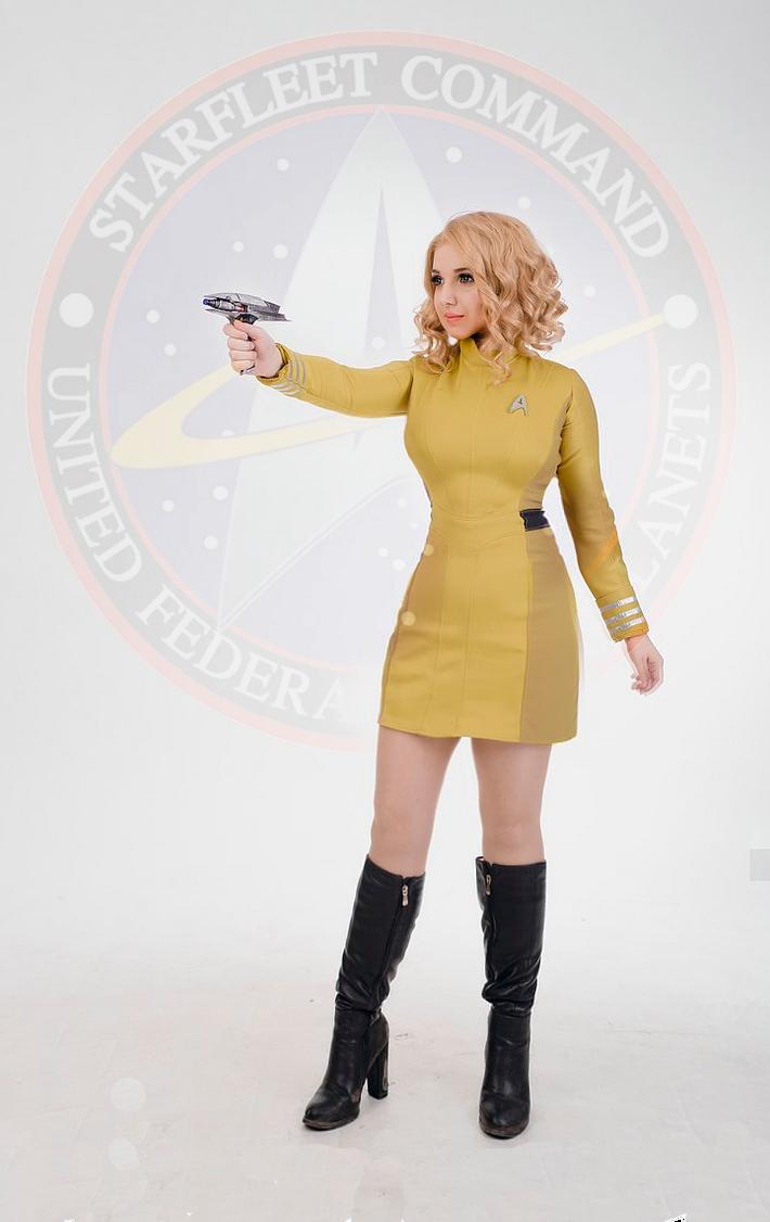 captain Jane T. Kirk by luiren