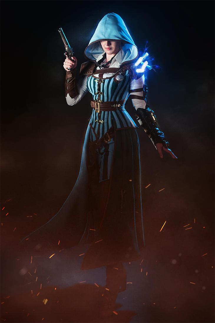 Evie Frye Steampunk cosplay set by luiren
