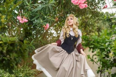 Disney Aurora sleeping Beauty Cosplay