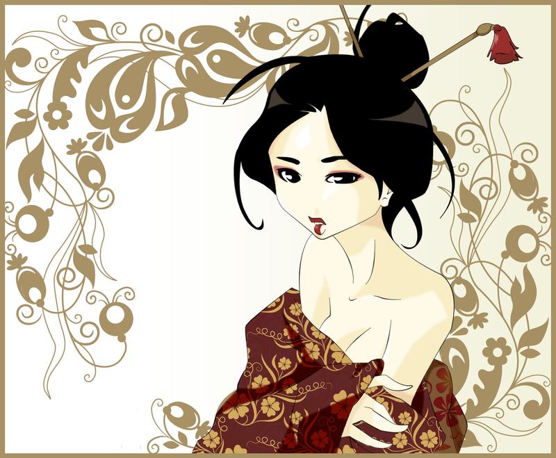 Geisha by Myhia