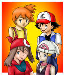 Ash and His Girls