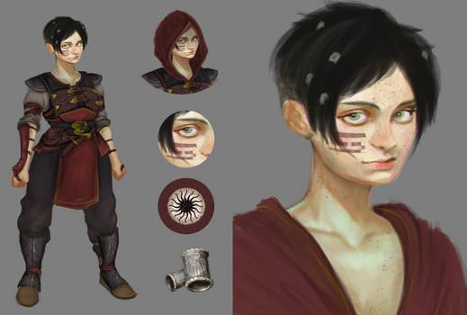 Pic Manipulation:Female dwarf concept