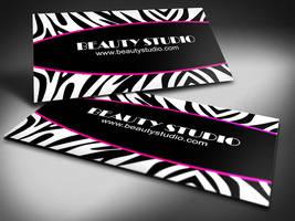 Free-zebra-print-business-cards-design by BorceMarkoski