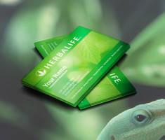 Herbalife Business Cards Idea by BorceMarkoski