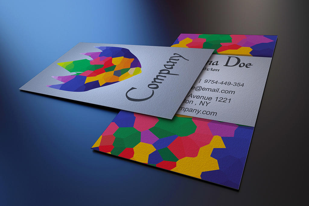 Free Art Gallery Business Card Template by BorceMarkoski on DeviantArt