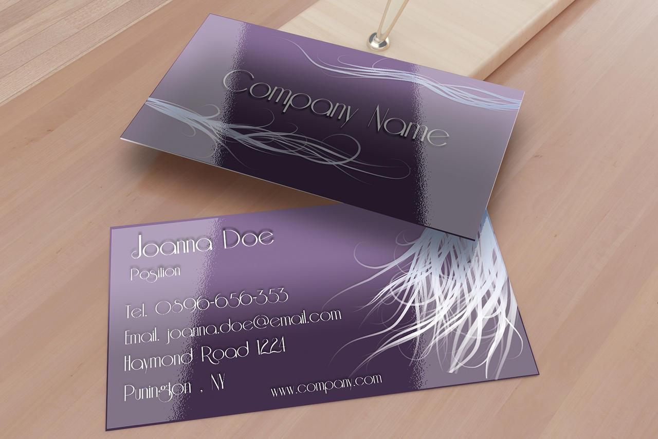 Hair Stylist Business Card Template By BorceMarkoski On DeviantArt