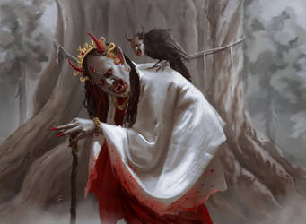 Masheudha, The Demon Witch