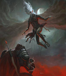 Virgil and his Daemon, Azrael