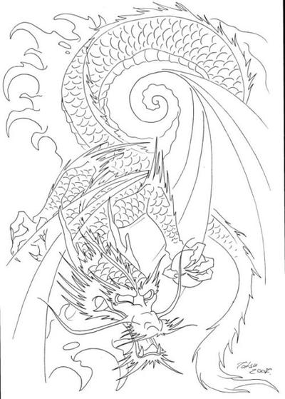 Size:375x500 - 133k: African Tattoo Designs Japanese Dragon Tattoo Designs