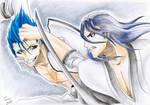 Byakuya VS Grimmy