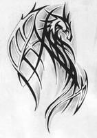 Dragon tattoo by Tatsu87