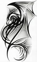 Dragon tattoo II. by Tatsu87