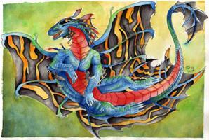 Happy dragon by Tatsu87