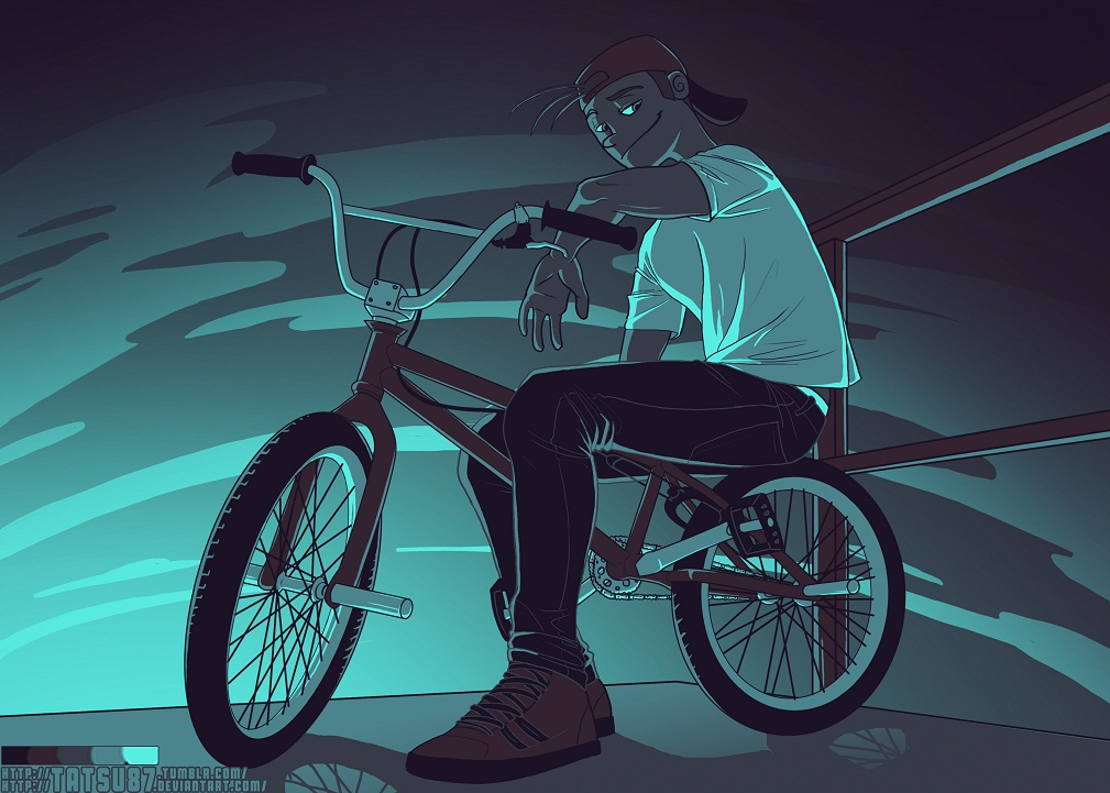 The biker by Tatsu87