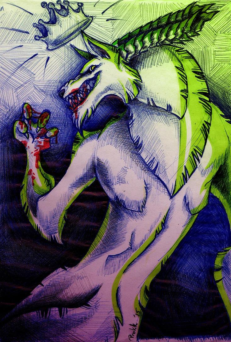 King of Hellhounds by Tatsu87