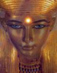 O Gold, Hathor by MysticalMike