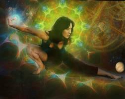 Awakening Universe Merkaba by MysticalMike