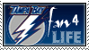 Fan For Life Tampa Bay Stamp by KingBD