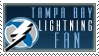 Tampa Bay Lightning Stamp by KingBD
