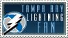 Tampa Bay Lightning Stamp by KingBD