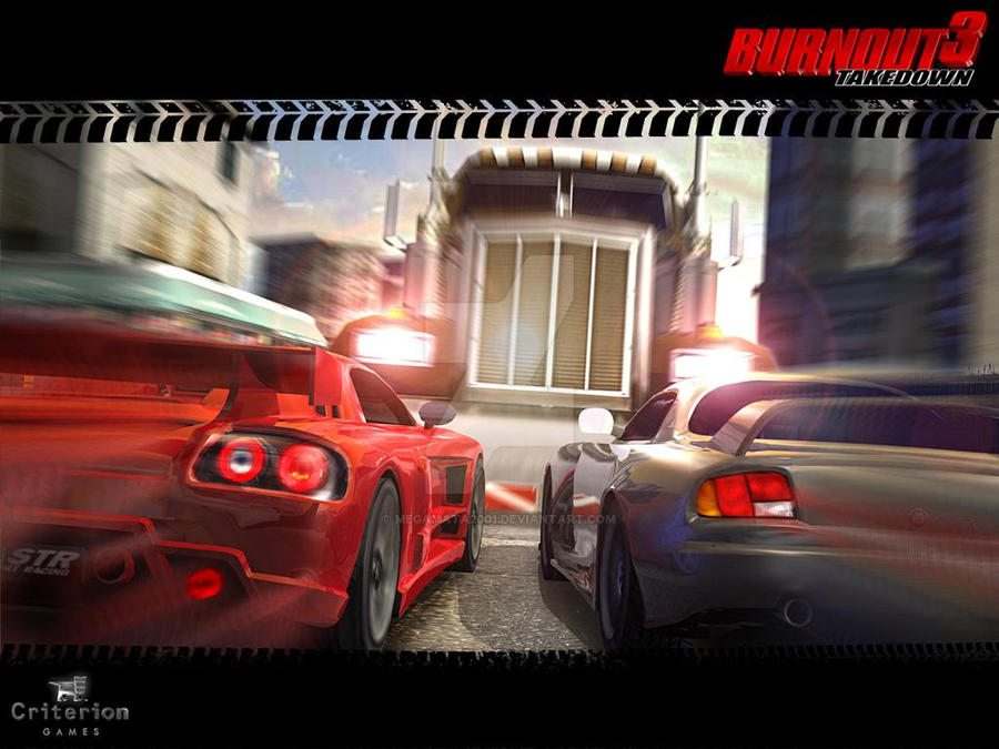Burnout 3 Takedown Wallpaper By Megamata2001