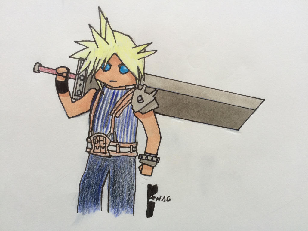 Cloud (SSB4) by Woodchopper09
