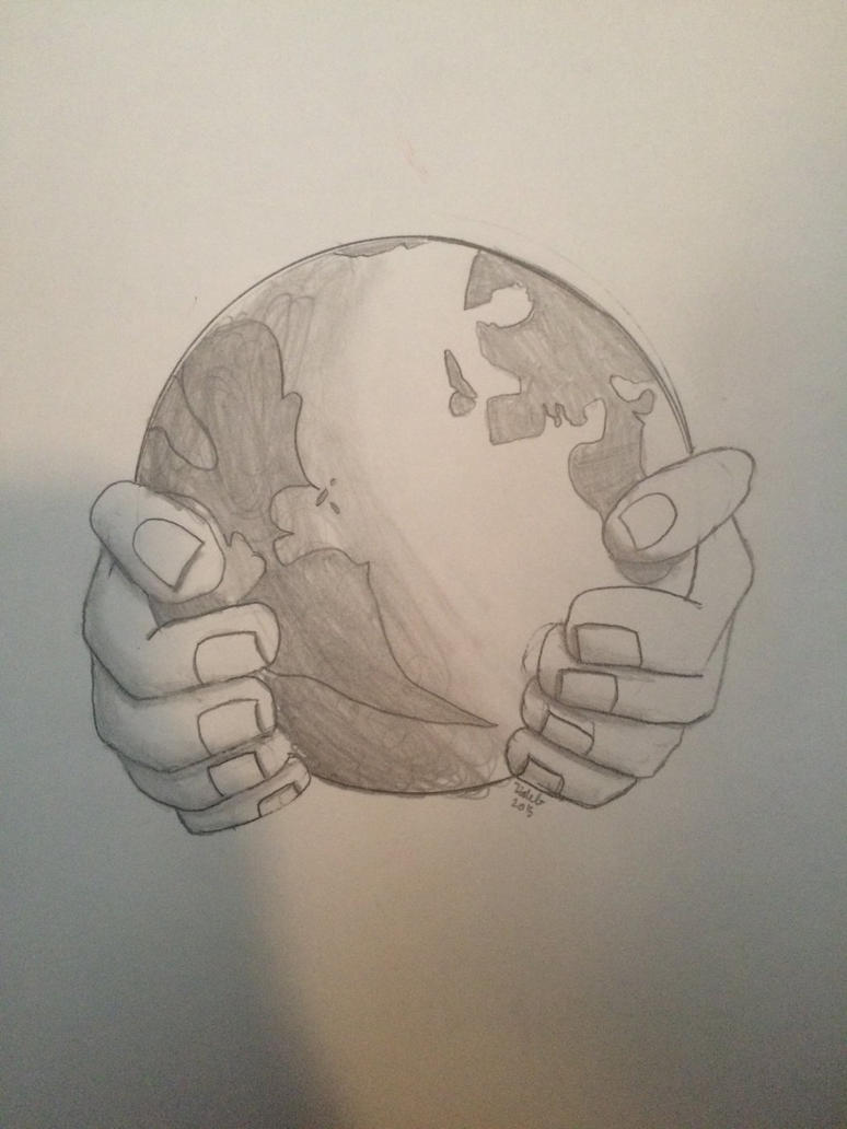 He's got the whole world in his hands by Woodchopper09