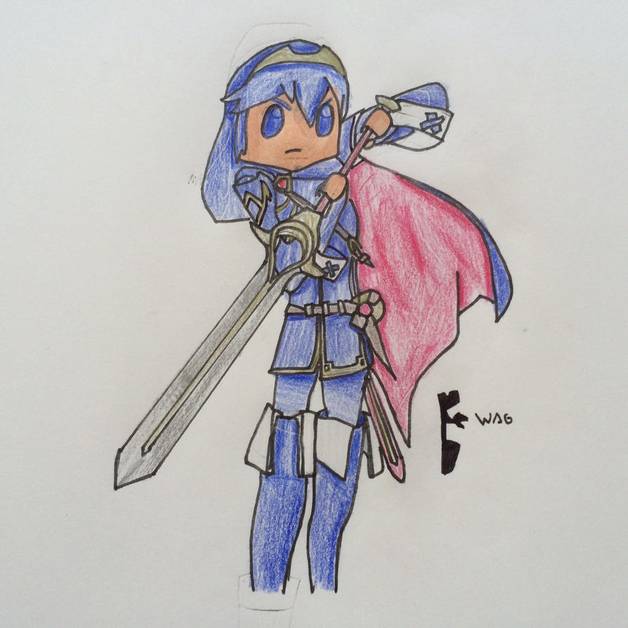 Lucina (SSB4) by Woodchopper09