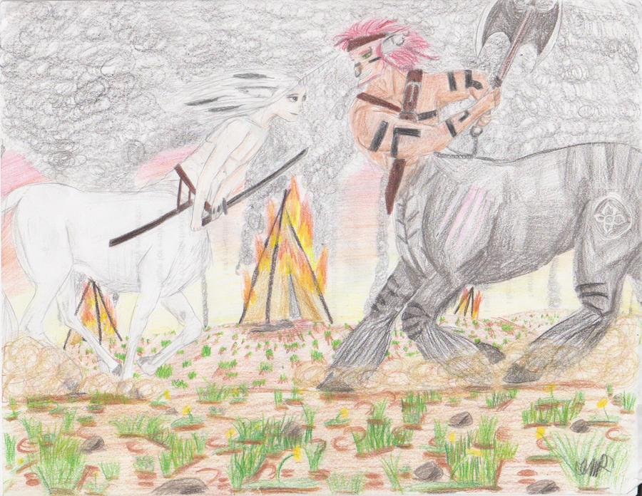 Tribal Wars by Ursixa-the-dragon