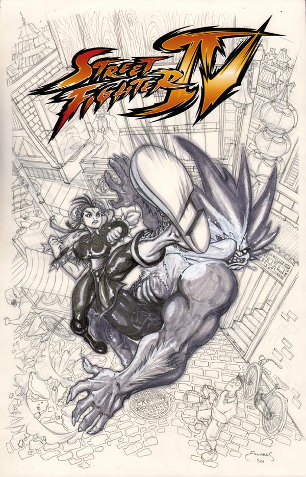 Street-Fighter by basicnoir