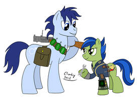 P-21 and Scotch Tape by Cloudy95