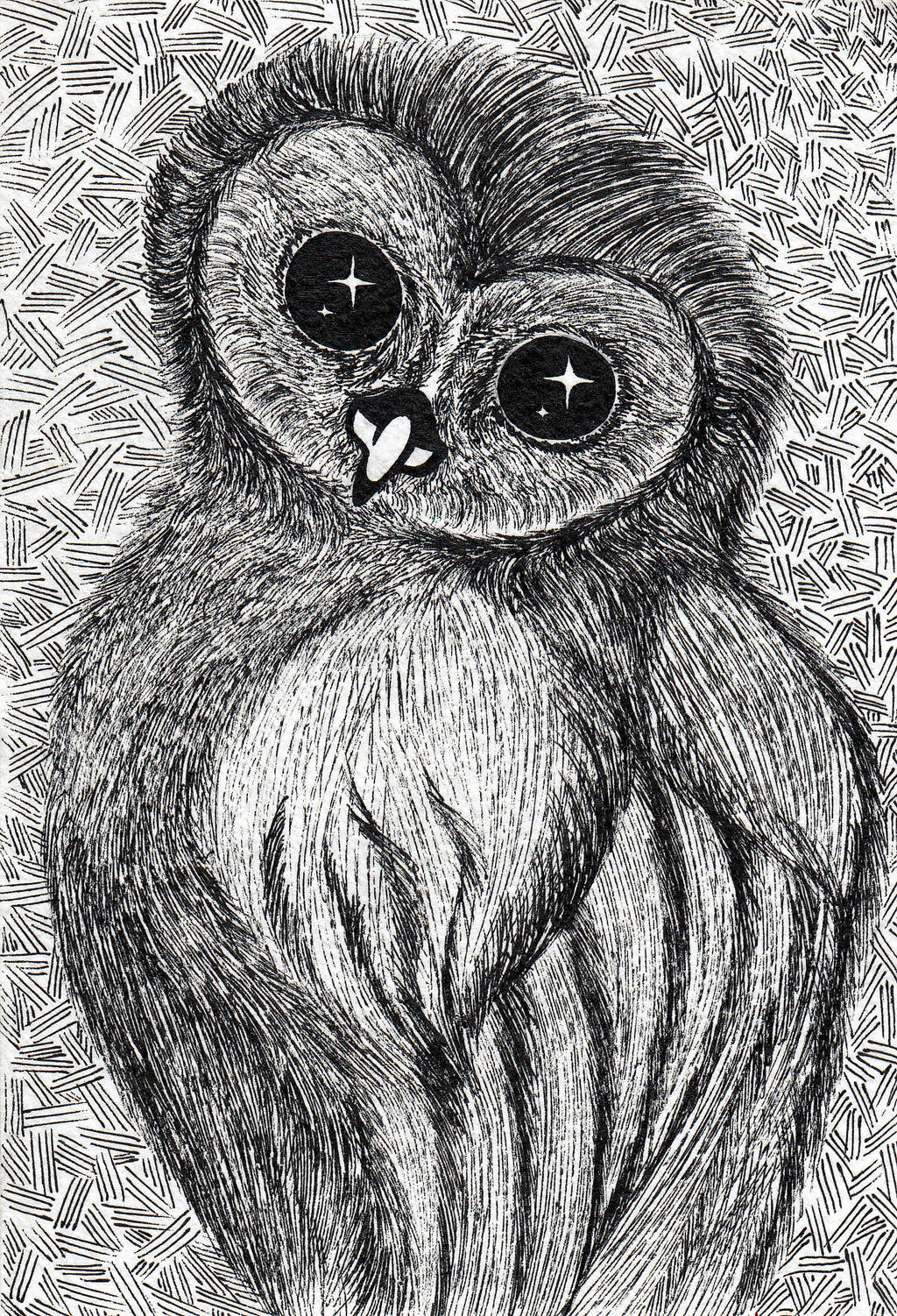 Owl by Benzzzin232